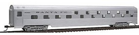 Con-Cor 85 Streamline Corrugated Budd Slumbercoach Santa Fe HO Scale Model Train Passenger Car #752