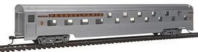 Con-Cor 85 Streamline Budd Sleeper Pennsylvania Railroad HO Scale Model Train Passenger Car #758