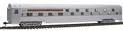 Con-Cor 85' Streamline Corrugated Side Budd Sleeper Canadian Pacific -- HO Scale Model Passenger Car -- #759