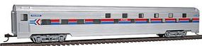Con-Cor 85 Corrugated Budd Slumbercoach Amtrak HO Scale Model Train Passenger Car #7605