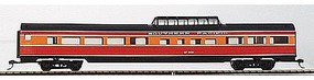 Con-Cor 85 Corrugated Budd Dome Southern Pacific Daylight HO Scale Model Passenger Car #78107