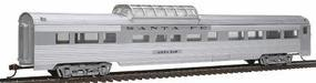 Con-Cor 85 Streamline Corrugated Side Dome Santa Fe HO Scale Model Train Passenger Car #782