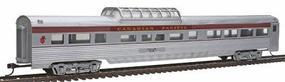 Con-Cor 85 Streamline Corrugated Side Dome Canadian Pacific HO Scale Model Train Passenger Car #789