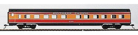 Con-Cor 85 Streamline 10-6 Sleeper Southern Pacific Daylight HO Scale Model Passenger Car #79107