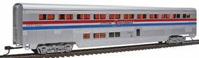 85' Streamlined Superliner Amtrak Phase III Coach HO Scale Model Train Passenger Car #802