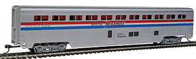 Con-Cor 85 Streamlined Superliner Amtrak Phase III Coach/Baggage HO Scale Model Passenger Car #822