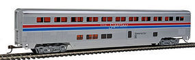 Con-Cor 85 Streamlined Superliner Amtrak Phase II Sleeper HO Scale Model Train Passenger Car #831