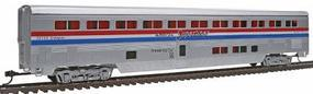 Con-Cor 85 Streamlined Superliner Amtrak Phase III Sleeper HO Scale Model Train Passenger Car #832