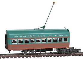 Con-Cor Electroliner Add-on Coach HO Scale Trolley and Hand Car #8714