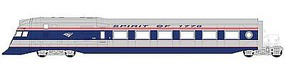 Con-Cor Amtrak Next-Gen 3-Car Streamlined Model Train Diesl Locomotive Set HO Scale #8728