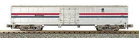 Con-Cor 60 Material Handling Car Amtrak-Post Office Logo HO Scale Model Train Freigt Car #873