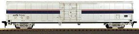 Con-Cor 60 Material Handling Car Amtrak (Phase IV) HO Scale Model Train Freight Car #874