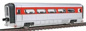 Con-Cor AeroTrain Add-on Coach Santa Fe HO Scale Model Train Passenger Car #8805