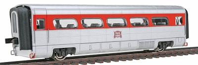 Con-Cor AeroTrain Add-on Coach Rock Island HO Scale Model Train Passenger Car #8806
