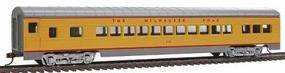 Con-Cor 72 Streamline Coach Milwaukee Road HO Scale Model Train Passenger Car #909