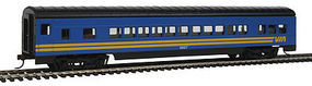 Con-Cor 72 Streamline Coach VIA Rail HO Scale Model Train Passenger Car #912