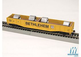 Con-Cor 54 Gondola with coils Bethlehem HO Scale Model Train Freight Car #92107