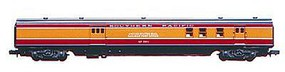 72' Streamline Railway Post Office Southern Pacific HO Scale Model Train Passenger Car #922