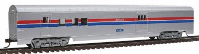 Con-Cor 72' Streamline Railway Post Office Amtrak (Phase II) -- HO Scale Model Train Passenger Car -- #926