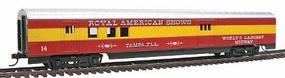 Con-Cor 72 Streamline Railway Post Office Royal American Show HO Scale Model Train Passenger Car #928