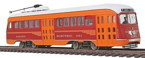 Con-Cor PCC Streetcar Pacific Electric HO Scale Model Train Locomotive #93008