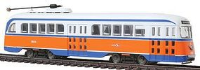 Con-Cor PCC Streetcar Philadelphia HO Scale Model Train Locomotive #93010