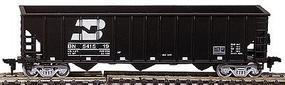 Con-Cor Greenville 12-Panel Hopper Kit Burlington Northern HO Scale Model Freight Car #9306