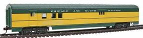 Con-Cor 72 Streamline Railway Post Office Chicago & North Western HO Scale Model Passenger Car #936