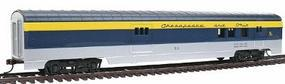 Con-Cor 72 Streamline Railway Post Office Chesapeake & Ohio HO Scale Model Train Passenger Car #939