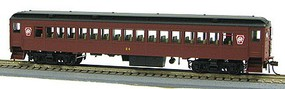 Con-Cor P54 Heavyweight Coach - Ready to Run Pennsylvania Railroad #335 (Tuscan, black, Keystone Logo)