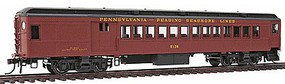 Con-Cor P54 Heavyweight Combine - Ready to Run Pennsylvania-Reading Seashore Lines #5121 (Tuscan, black)