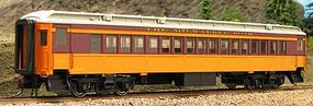 Con-Cor Heavyweight 65 Branchline Coach Milwaukee Road HO Scale Model Train Passenger Car #94208