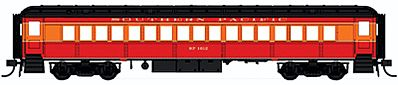 Con-Cor Heavyweight 65' Branchline Coach Southern Pacific -- HO Scale Model Train Passenger Car -- #94216