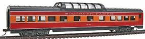 Con-Cor 72 Streamline Vista Dome Southern Pacific Daylight HO Scale Model Passenger Car #942