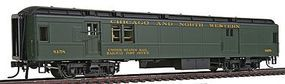 Con-Cor Heavyweight 65 Branchline Baggage/Railway Post Office HO Scale Model Passenger Car #94302