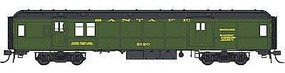 Con-Cor Heavyweight 65 Branchline Baggage/Railway Post Office HO Scale Model Passenger Car #94303