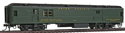 Con-Cor Heavyweight 65 Branchline Baggage/Railway Post Office HO Scale Model Passenger Car #94307