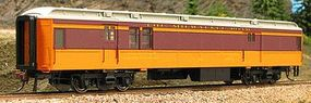 Con-Cor Heavyweight 65 Branchline Baggage/Railway Post Office HO Scale Model Passenger Car #94308