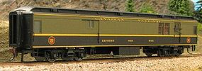 Con-Cor Heavyweight 65 Branchline Baggage/Railway Post Office HO Scale Model Passenger Car #94312