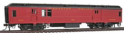 Con-Cor Heavyweight 65 Branchline Baggage/Railway Post Office HO Scale Model Passenger Car #94313