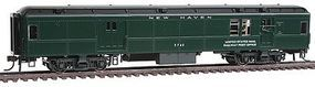 Con-Cor Heavyweight 65 Branchline Baggage/Railway Post Office HO Scale Model Passenger Car #94321