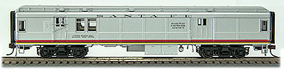 Con-Cor Heavyweight Bag/Mail ATSF HO Scale Model Train Passenger Car #94327