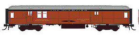 Con-Cor Heavyweight 65 Branchline Baggage-Mail Milwaukee Road HO Scale Model Passenger Car #94330
