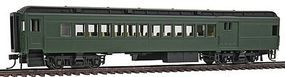 Con-Cor Heavyweight 65 Branchline Combine Painted, Unlettered HO Scale Model Passenger Car #94351