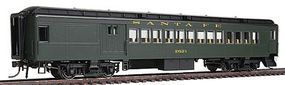 Con-Cor Heavyweight 65 Branchline Combine Santa Fe HO Scale Model Train Passenger Car #94353