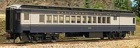 Con-Cor Heavyweight 65 Branchline Combine Baltimore & Ohio HO Scale Model Train Passenger Car #94359