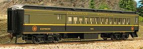 Con-Cor Heavyweight 65 Branchline Combine Canadian National HO Scale Model Train Passenger Car #94362