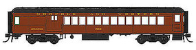 Con-Cor Combine Norfolk & Western #1502 Tuscan HO Scale Model Train Passenger Car #94382