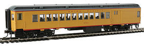 Con-Cor Combine Union Pacific #2721 yellow/gray HO Scale Model Train Passenger Car #94383