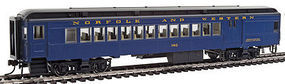 Con-Cor Combine Norfolk & Western #140 Pevler Blue HO Scale Model Train Passenger Car #94384